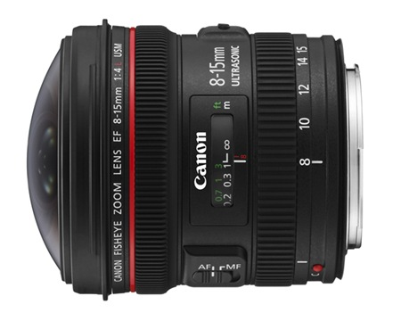 7-Canon EF 8-15mm f4L Fisheye USM